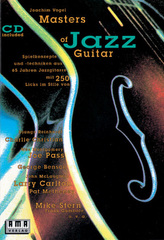 Masters of Jazz Guitar, m. Audio-CD