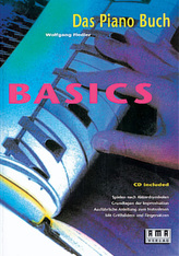 Basics, Das Piano-Buch, m. CD-Audio