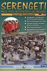 Serengeti, Masai-Mara, Ngorongoro, Lake Manyara Safari Handbook