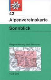 Alpenvereinskarte Sonnblick