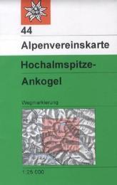 Alpenvereinskarte Hochalmspitze - Ankogel