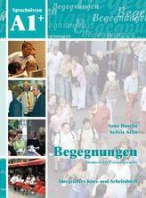 A1+ Integriertes Kurs- und Arbeitsbuch, m. 2 Audio-CDs