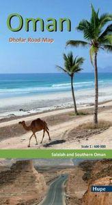Oman: Dhofar Road Map