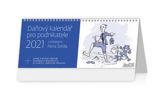 Kalendář 2021 stolní: Daňový kalendář pro podnikatele, 321x134