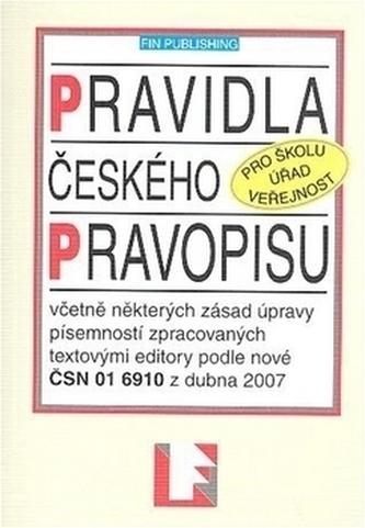 Pravidla českého pravopisu - neuveden