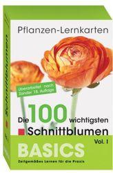 Pflanzen-Lernkarten, Die 100 wichtigsten Schnittblumen. Vol.1