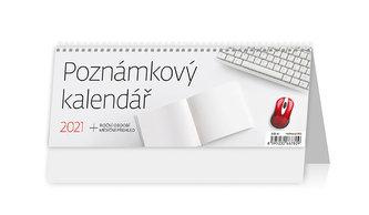 Kalendář 2021 stolní: Poznámkový kalendář, 246x96