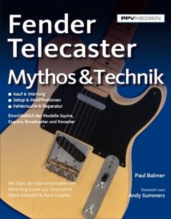 Fender Telecaster - Mythos & Technik - Balmer, Paul