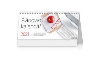 Kalendář 2021 stolní: Plánovací kalendář, 301x135