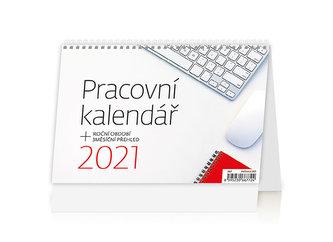 Kalendář 2021 stolní: Pracovní kalendář, 211x148