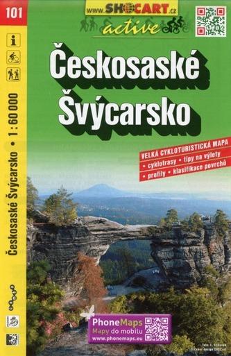 Českosaské Švýcarsko 1:60 000