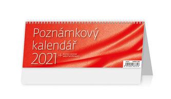 Kalendář 2021 stolní: Poznámkový kalendář OFFICE, 246x96