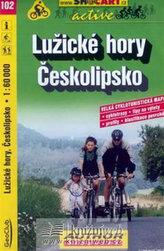 Lužické hory Českolipsko 1:60 000