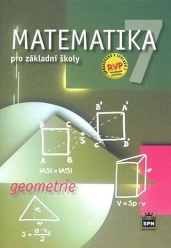 Matematika 7 pro základní školy Geometrie - Zdeněk Půlpán