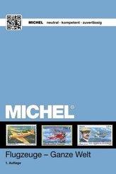 MICHEL Motivkatalog Flugzeuge - Ganze Welt