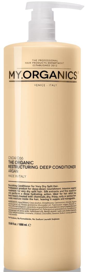 MY.ORGANICS The Organic Restructuring Deep Conditioner Argan 1000ml