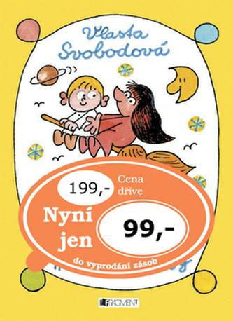 Knížka pro malé čarodějky s obrázky Miloše Nesvadby