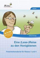 Eine (Lese-)Reise zu den Honigbienen, m. CD-ROM