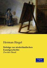 Beiträge zur niederländischen Kunstgeschichte. Bd.2