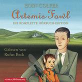 Artemis Fowl - Die komplette Hörbuch-Edition, 9 MP3-CDs
