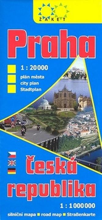 Praha 1: 20 000 Česká republika 1: 1 000 000