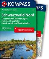 Kompass Wanderführer Schwarzwald, Nord