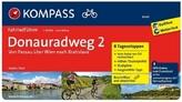 Kompass Fahrradführer Donauradweg. Bd.2