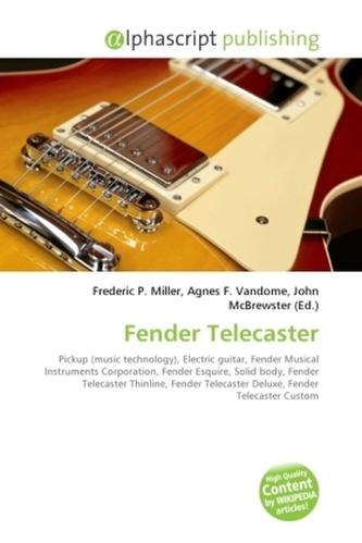 Fender Telecaster - Miller, Frederic P.
