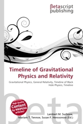 Timeline of Gravitational Physics and Relativity