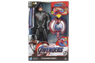 Avengers Titan Hero Power FX Kapitán Amerika 30cm figurka