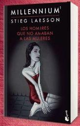 Los hombres que no amaban a las mujeres. Verblendung, spanische Ausgabe