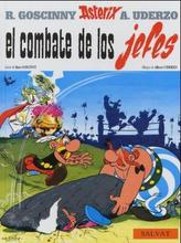 Asterix - El combate de los jefes. Der Kampf der Häuptlinge, spanische Ausgabe
