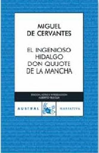 Don Quijote de la Mancha, spanische Ausgabe. Der sinnreiche Junker Don Quijote von der Mancha, spanische Ausgabe - Miguel de Cervantes Saavedra