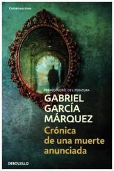 Cronica De Una Muerte Anunciada. Chronik eines angekündigten Todes, spanische Ausgabe