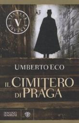 Il cimitero di Praga. Der Friedhof in Prag, italienische Ausgabe