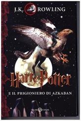 Harry Potter e il prigionero di Azkaban. Harry Potter und der Gefangene von Askaban, italienische Ausgabe