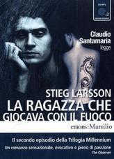 La Ragazza che giocava con il Fuoco, 2 MP3-CDs. Verdammnis, 2 MP3-CDs, italienische Ausgabe