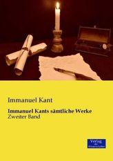 Immanuel Kants sämtliche Werke. Bd.2