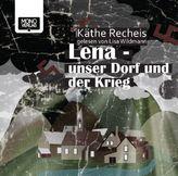 Lena - Unser Dorf und der Krieg, 2 MP3-CDs