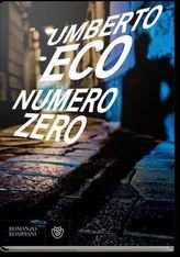 Numero Zero, italienische Ausgabe. Nullnummer, italienische Ausgabe