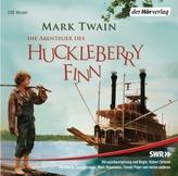 Die Abenteuer des Huckleberry Finn , 2 Audio-CDs