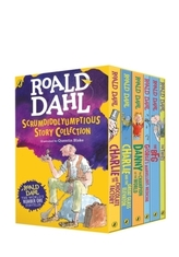 Roald Dahl's Scrumdiddlyumptious Story Collection, 6 Vols.