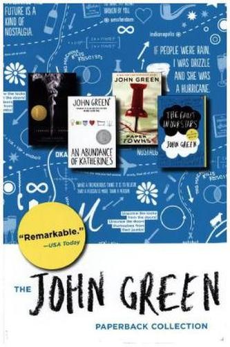 John Green Box Set, 4 Vols. - John Green