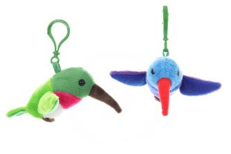 Plyš Kolibřík klíčenka