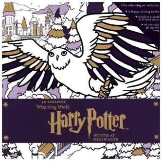 Harry Potter: Winter at Hogwarts: A Magical Colouring Set - Rowling, Joanne K.