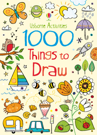1000 Things To Draw Robson Kirsteen Megaknihy Cz