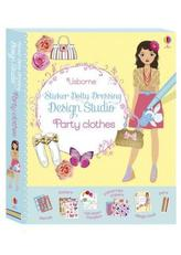 Sticker Dolly Dressing Design Studio Party Clothes