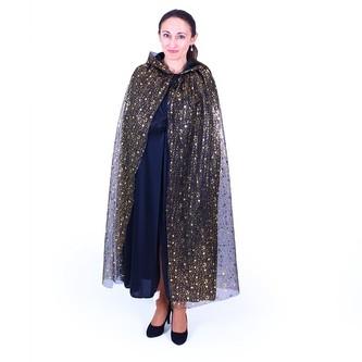 Plášť Čarodějnický s kapucí pro dospělé, Čarodějnice / Halloween