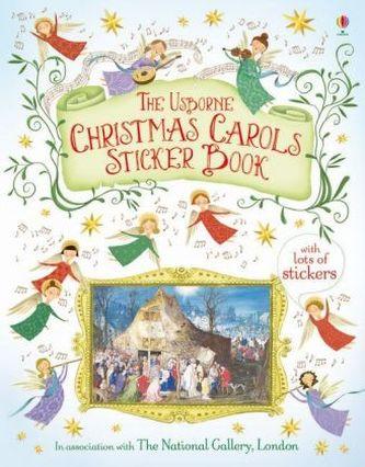 The Usborne Christmas Carols Sticker Book - Jane Chisholm