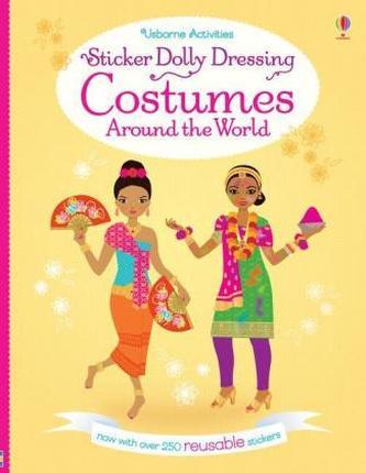 Sticker Dolly Dressing Costumes Around the World - Bone, Emily